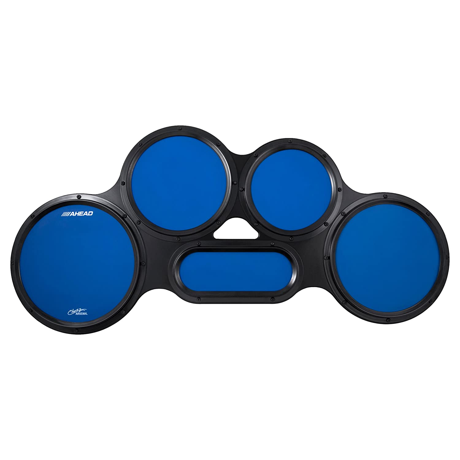 Ahead S-hoop Chavez Tenor Practice Pad Set - 4/5/6 Combination - Blue AHCTPB