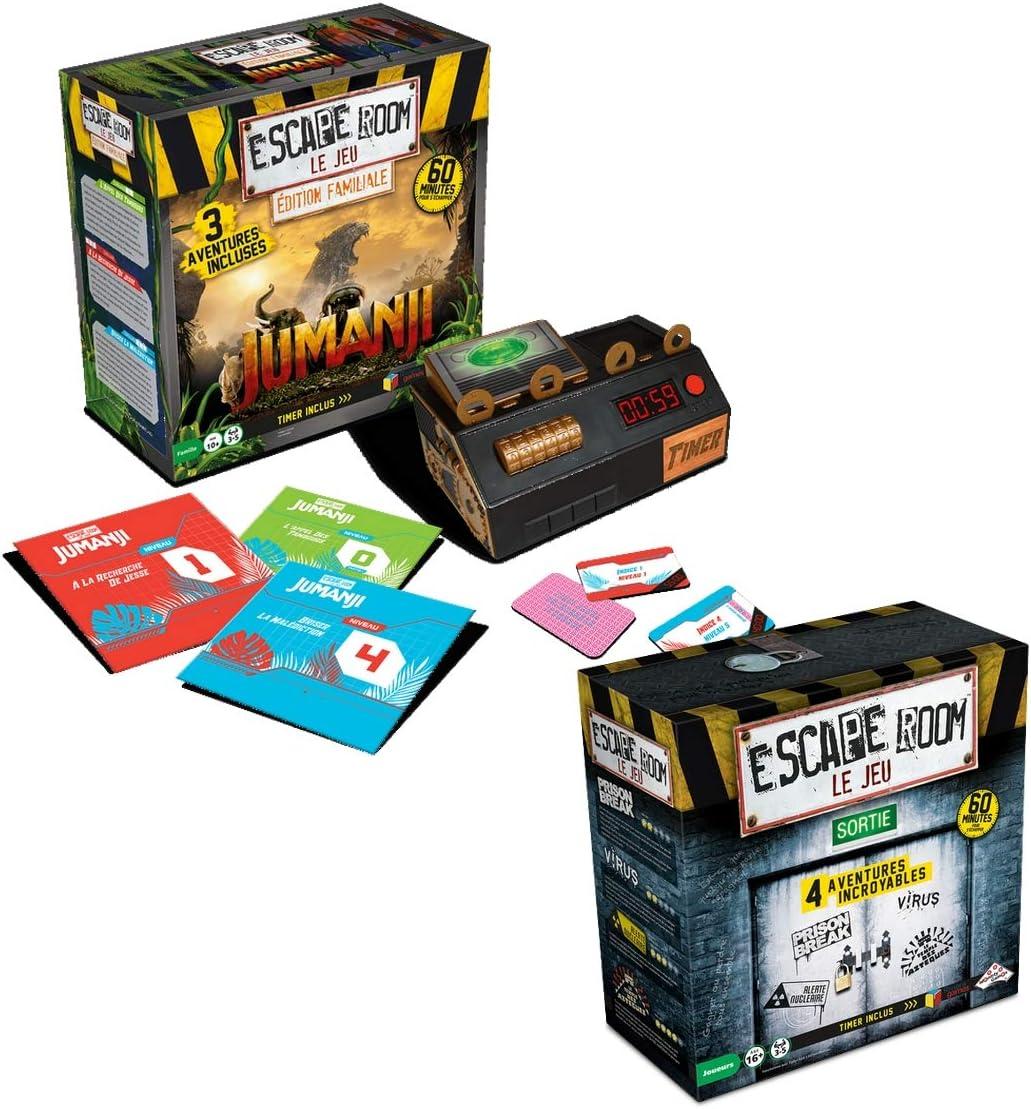 RIVIERA GAMES - Juego de 4 Aventuras, Incluye Estuche de edición ...