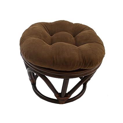 Awe Inspiring Amazon Com Misc 18 Inch Chocolate Brown Papasan Foot Stool Cjindustries Chair Design For Home Cjindustriesco