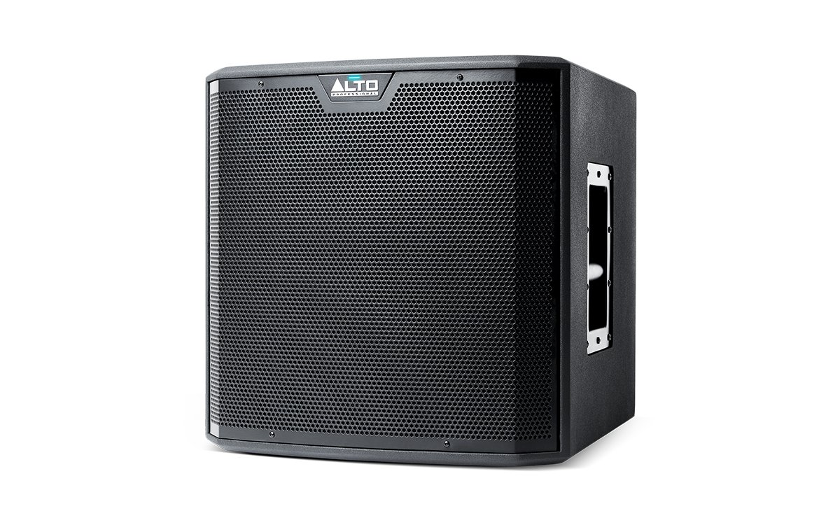 Alto Professional TS212S | 12'' Powered Truesonic Subwoofer with Quiet, Fanless Cooling (1250W Peak Class D Power / 42-100Hz)
