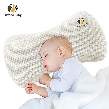 3cddd8e6589f5 TWONE(トォネ)ベビー まくら 枕 赤ちゃん 絶壁防止 ドーナツ 新生児 赤ちゃん 向き癖防止