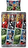 Character World Disney Marvel Avengers Team Single Rotary Duvet Set