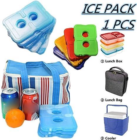 wwweyi Healthy Packers Cool Pack, Paquete de Hielo Delgado para ...