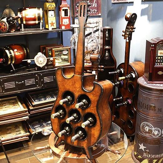 Estante para vino Gabinete para vino En forma de guitarra grande ...
