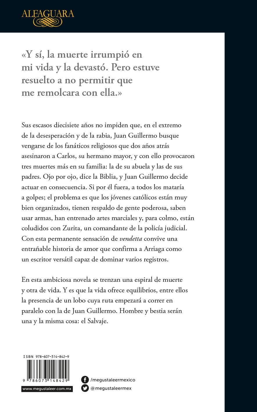 El Salvaje (spanish Edition): Guillermo Arriaga: 9786073148429: Amazon:  Books