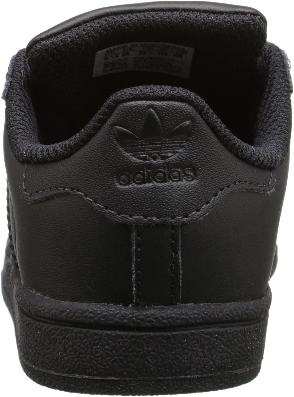 adidas Originals Kids' Superstar Sneaker Core Black/Black/Core Black