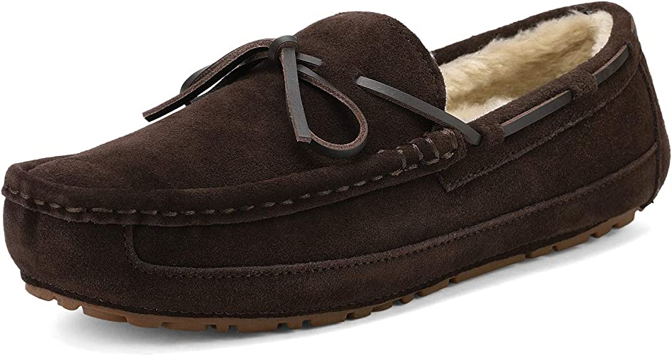 DREAM PAIRS Men's Au Loafer Moccasins Slippers