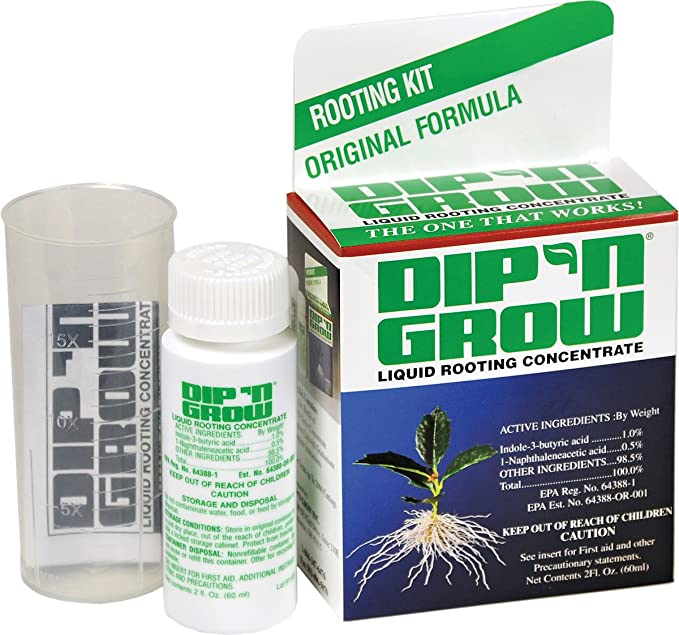 Dip 'N Grow DG00201 Liquid Rooting Hormone – Best for Propagation