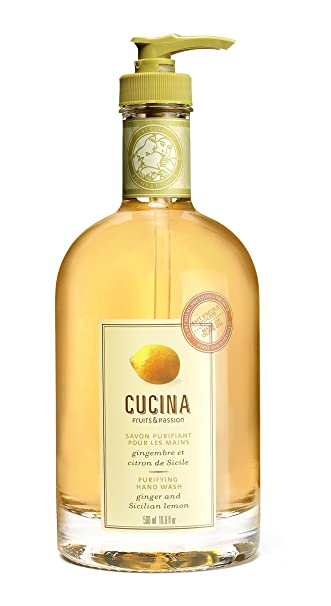 Amazon.com : Cucina Purifying Hand Wash Ginger and Sicilian Lemon ...