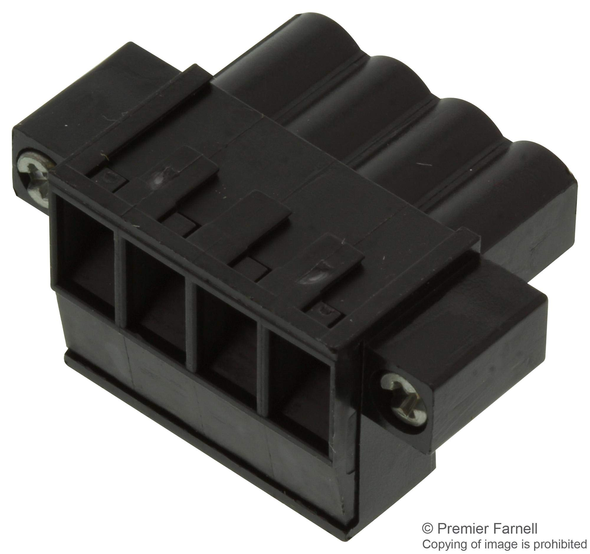 1803060000 - Pluggable Terminal Block, 5.08 mm, 4 Positions, 26 AWG, 12 AWG, 2.5 mm², Screw, (Pack of 20)
