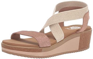 068b0cab7bb3 Amazon.com  Yellow Box Women s Janalee Wedge Sandal  Shoes