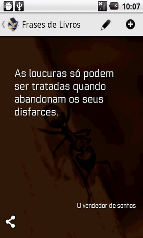 Amazoncom Frases De Livros Appstore For Android