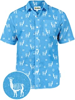 e3b7f178 Men's Bright Hawaiian Shirt for Spring Break and Summer - Funny Aloha Shirt  for Guys