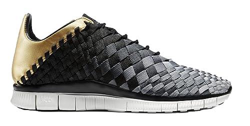Nike Free Inneva Woven N7 700904-002 Black Cool Grey-Wolf Grey ... 041e63e28c01
