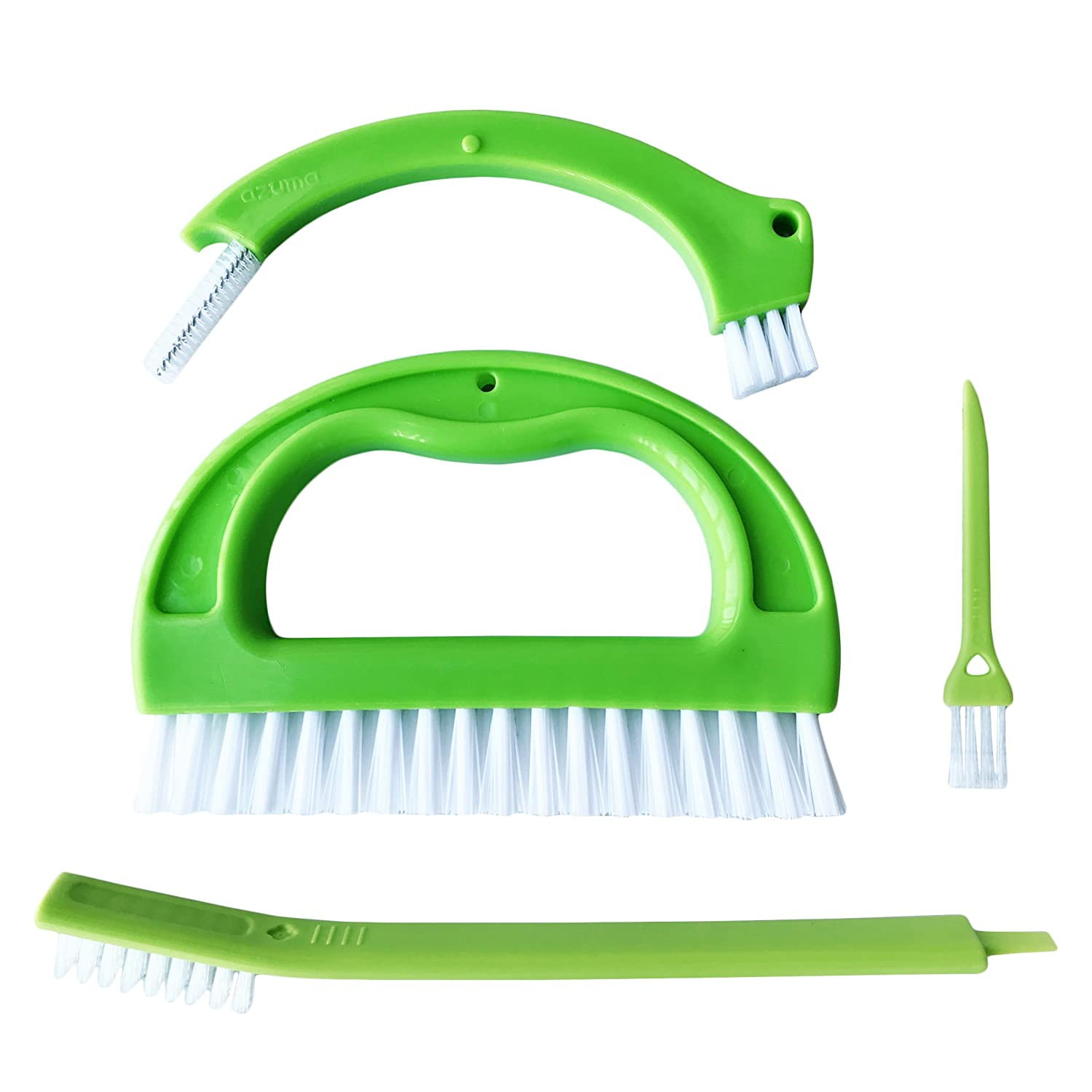 Tile Joint Cleaning Scrubber Brush Set with Nylon Bristles Floors 4 in 1 Joint Scrubber for Deep Cleaning Grout Brush Kitchen and Other Household Great Use for Shower