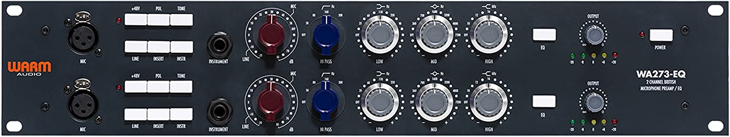Warm Audio WA273-EQ Microphone Preamp EQ
