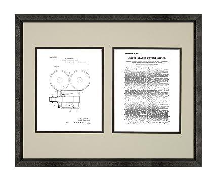 Amazon.com: Direct-viewing Photographic Camera Patent Art White ...