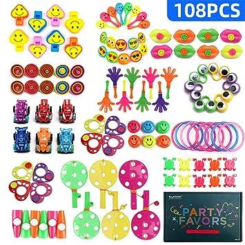 Amyove 108 PCS Party Favors Surtido de Juguetes para niños ...