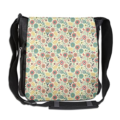 Lovebbag Modern Stylish Bunch Of Flower Bouquet Botany Garden Crossbody Messenger Bag