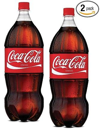 Amazon Com 2 Coca Cola 2 Liter Bottles Coke 2l 2pk Grocery Gourmet Food