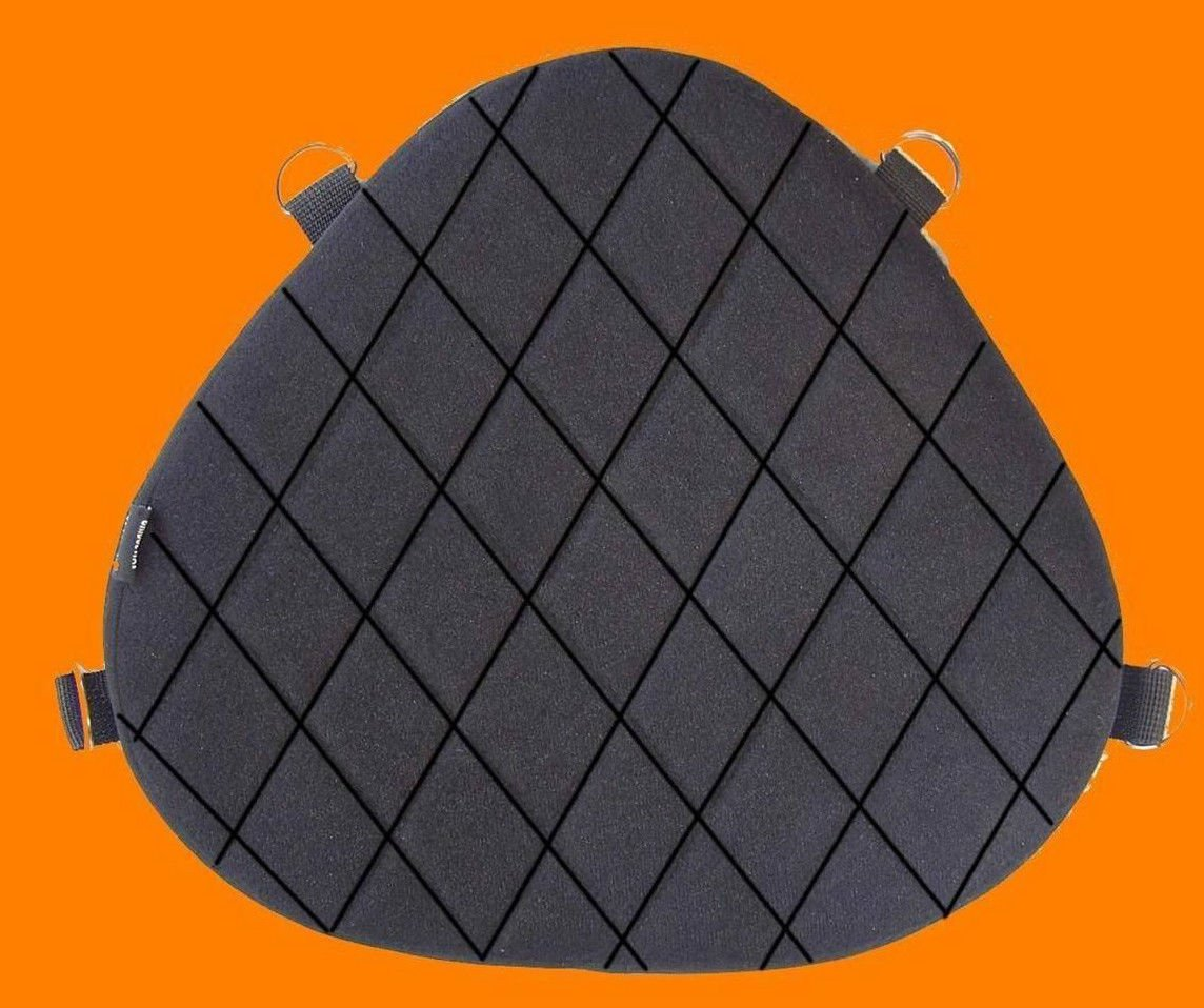 Motorcycle Gel Pad Driver Seat cushion For Harley Davidson FLHR Road King /& RoadKing classic