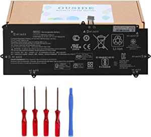 OUSIDE New SE04XL Battery Compatible with HP Pro X2 612 G2 Laptop 860708-855 860724-2B1 860724-2C1 HSTNN-DB7Q Battery Replacement [7.7V 41.58Wh ]