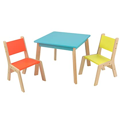 Amazon.com: KidKraft Highlighter Modern Table & Chair Set: Toys & Games