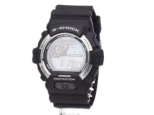 b3ac37d99e64 Amazon.com  Casio Men s GR-8900-1CR Tough Solar G-Shock Digital Display  Quartz Black Watch  Watches