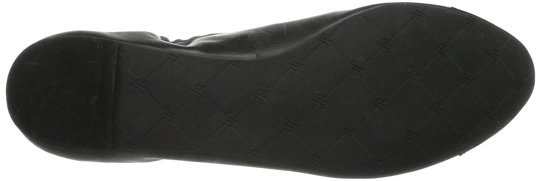 Jack Rogers Women's Bree Leather Ballet Flat B00S3Y0WZS 5 B(M) US Black/Black Patent