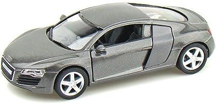 Toyshine 1:36 Metal Die Cast Car Audi R8, Opening Doors, Vehicle Toy