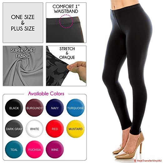 3d53a3e6a8f1f Women s Butter Soft Solid Color Leggings at Amazon Women s Clothing ...
