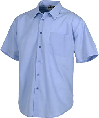 Work Team Camisa de Manga Corta con un Bolso de Pecho. Hombre