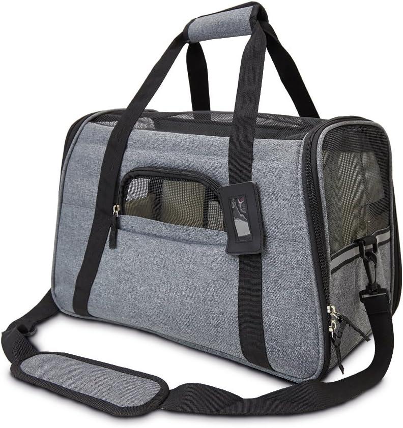 Platz 4 – achilles Haustiertasche, Transporttasche für kleine Hunde und Katzen