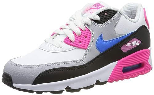 Nike Mädchen Air Max 90 Ltr (Gs) Gymnastikschuhe