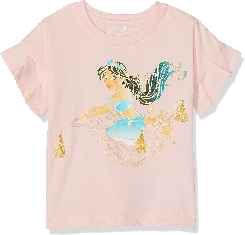 NAME IT Baby-M/ädchen Nmfaladdin Jasmin Ss Top Wdi T-Shirt