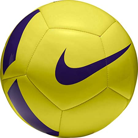 Nike Pitch Training Ball FootBall   Color: Yellow/Violet , Size :5