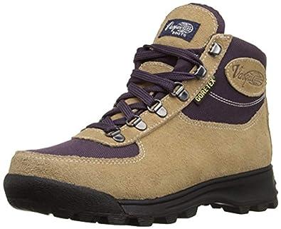 Beau Vasque Womenu0027s Skywalk GTX Backpacking Boots Desert Sand/Plum 6 M U0026 Cap  Bundle
