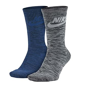 Nike SX5403-900, Calcetines Para Hombre, Multicolor (Obsidian/Anthacite),