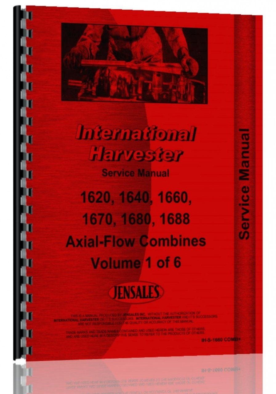 Amazon.com: International Harvester Combine Service Manual (IH-S-1660 COMB)  (6301147707185): International Harvester: Books