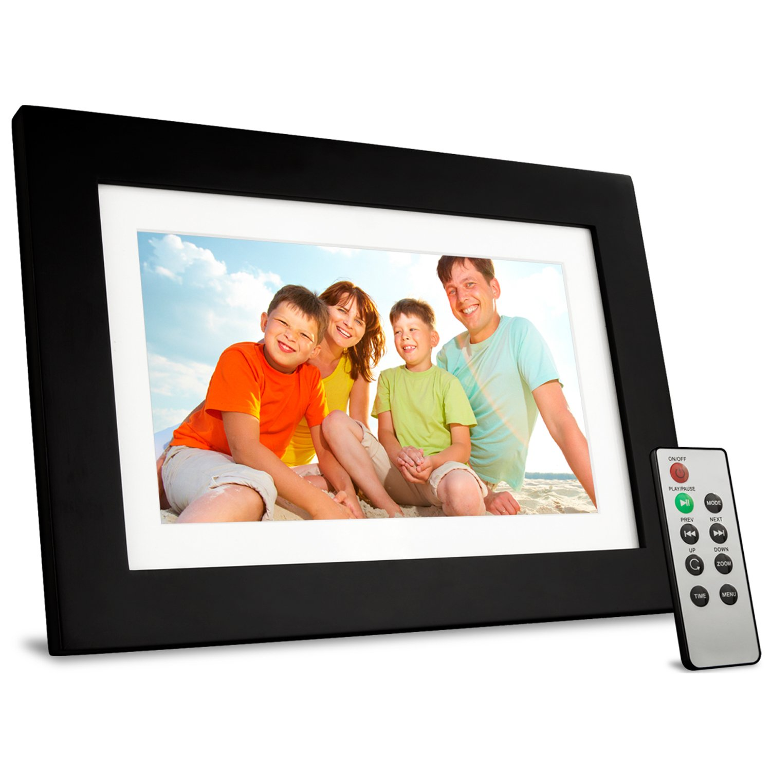 viewsonic vfd1028w 11 101 inch digital photo frame features high resolution 1024x600 black amazonca camera photo - Electronic Picture Frames