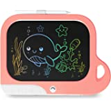 """TEKFUN Toddler Girl Toys Gifts for 6 4 3 5 Year Old Girls, 8.5"""" Drawing Board for Kids LCD Writing Tablet Color Doodle Board,"""