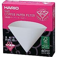 Hario VCF-01-40W - Caja de filtros de café