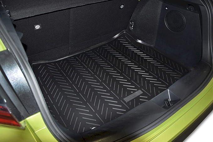 J J Automotive Premium Antirutsch Gummi Kofferraumwanne Für Alle Kia Sportage 2010 2015 Auto