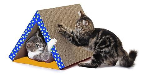 Petstages Plegable Scratching Juguete de Túnel para Gatos (los Colores Pueden Variar)