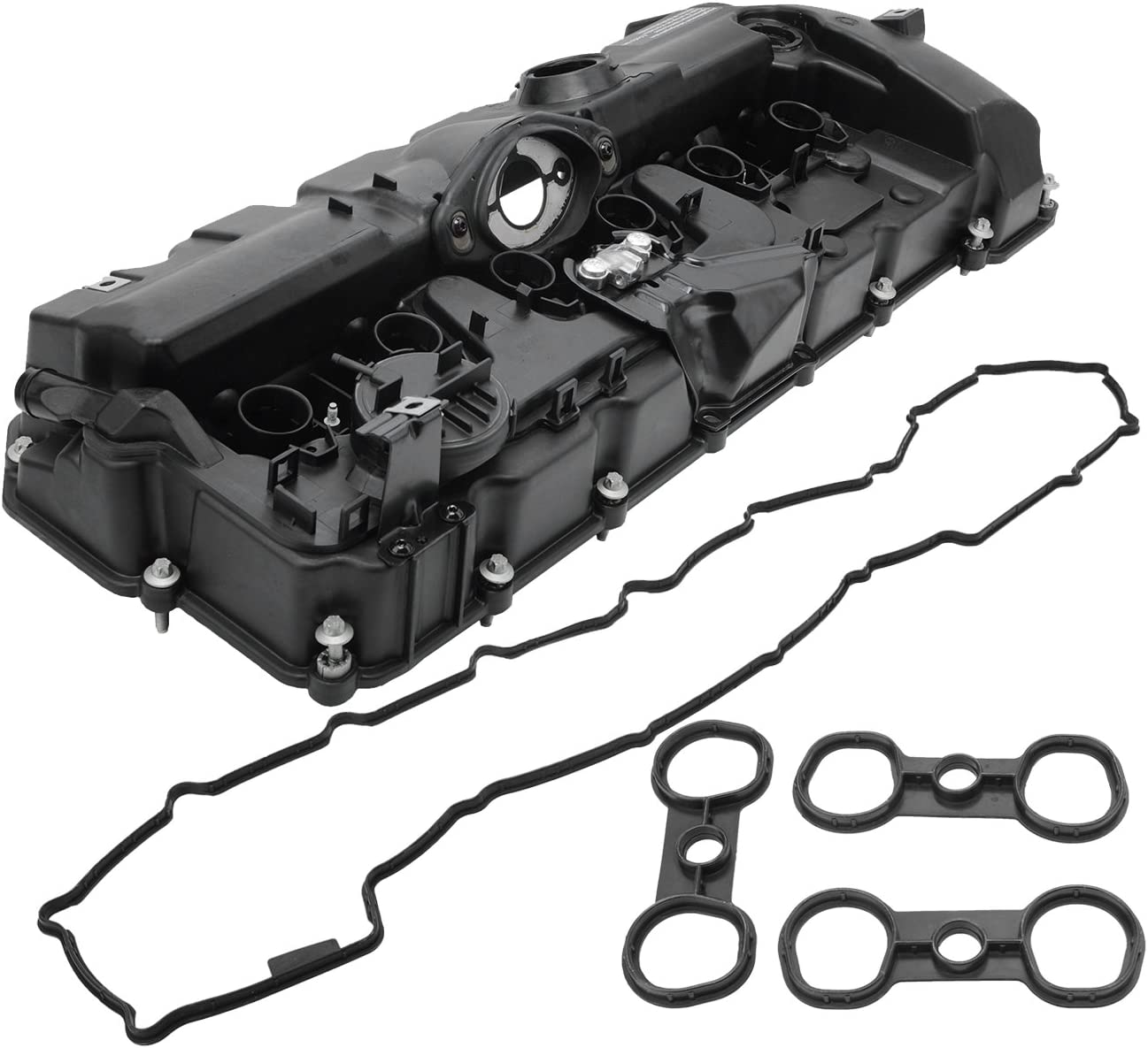11127552281 For BMW 128i 328i 528i X3 X5 Z4 E60 E70 Engine Valve Cover w// Gasket