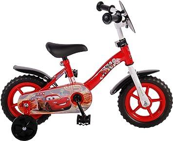 Bicicleta los niños de Disney Cars de 10 pulgadas 3 4 4,5 años con ...