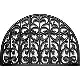 Calloway Mills 900102436 Carrington Rubber Doormat, 2' x 3', Black