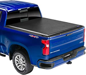 "Lund Genesis Elite Roll Up, Soft Roll Up Truck Bed Tonneau Cover | 96893 | Fits 2014 - 2018 GMC Sierra & Chevrolet Silverado 6' 6"" Bed"