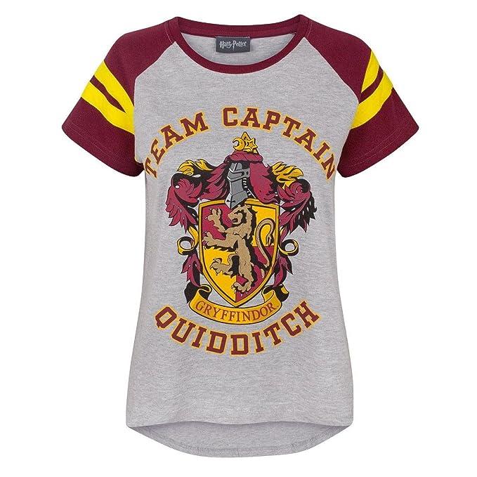 Capitano Quidditch Potter Squadra Maglietta Harry Grifondoro Di dorxWeQBC