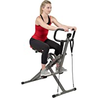 Sunny Health & Fitness Row-N-Ride PRO Squat Assist Trainer - SF-A020052